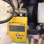 Pressure meter installation